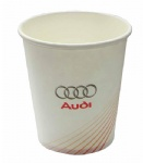 Single printing paper cups for cafe with your own logo