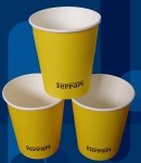 Custom Logo Printing Disposable Single Wall Small Tasting Paper Cup Wholesale